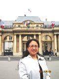 Photos Mme ZHANG LI devant le Conseil D'Etat Conférence FIDES CRDP à l'Université Paris Ouest Nanterre La Défense